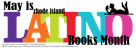 Latino Books Month logo